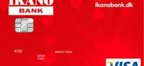 Lån opp til  ved Ikano Visa