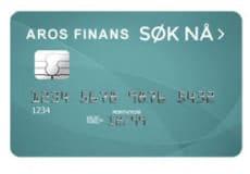 Lån opp til 100.000 ved Aros Finans Kredittkort