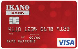 Lån opp til 100.000 ved Ikano Visa