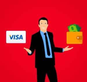kredittkort på dagen